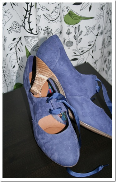 Blue suede shoe-1