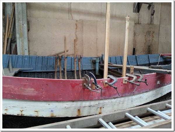 Rescue wooden boats_