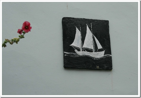 ship plaque art deco-